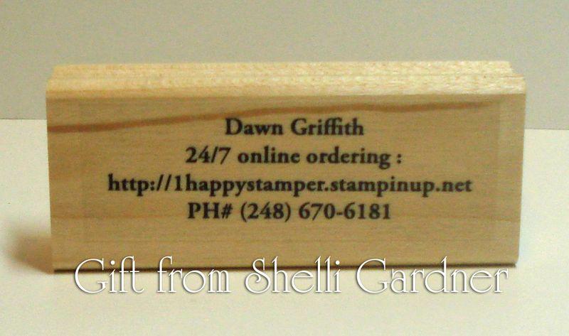 Gift from Shelli Gardner
