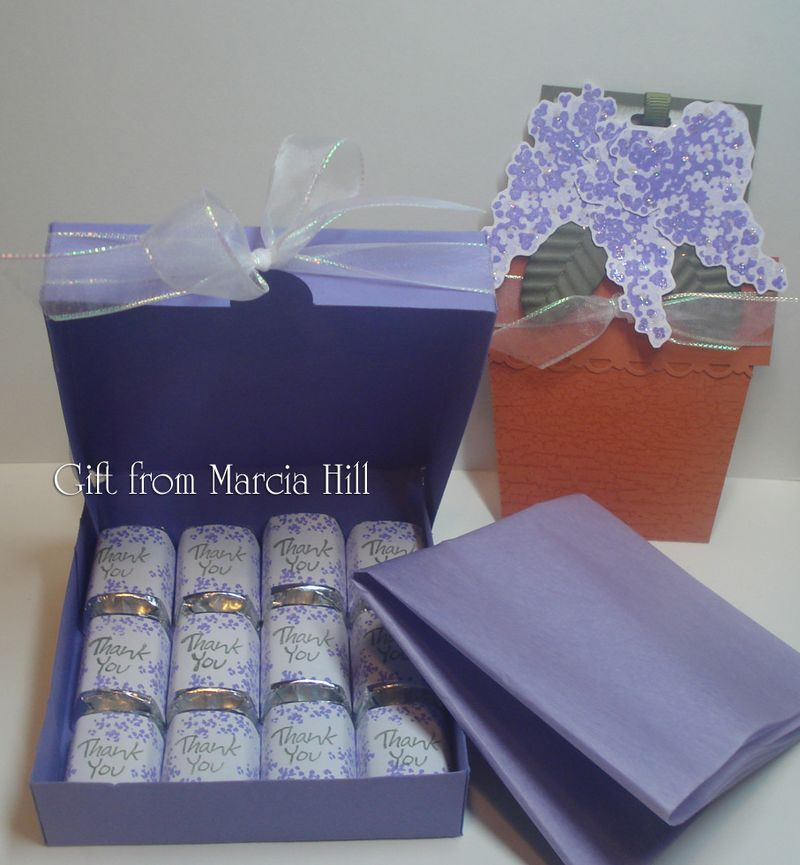 Gift from Marcia Hill ~ Opened