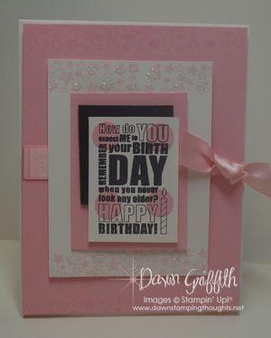 Pretty in pink Happy Birthday