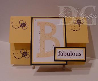 Envelope card B Fabulous#1
