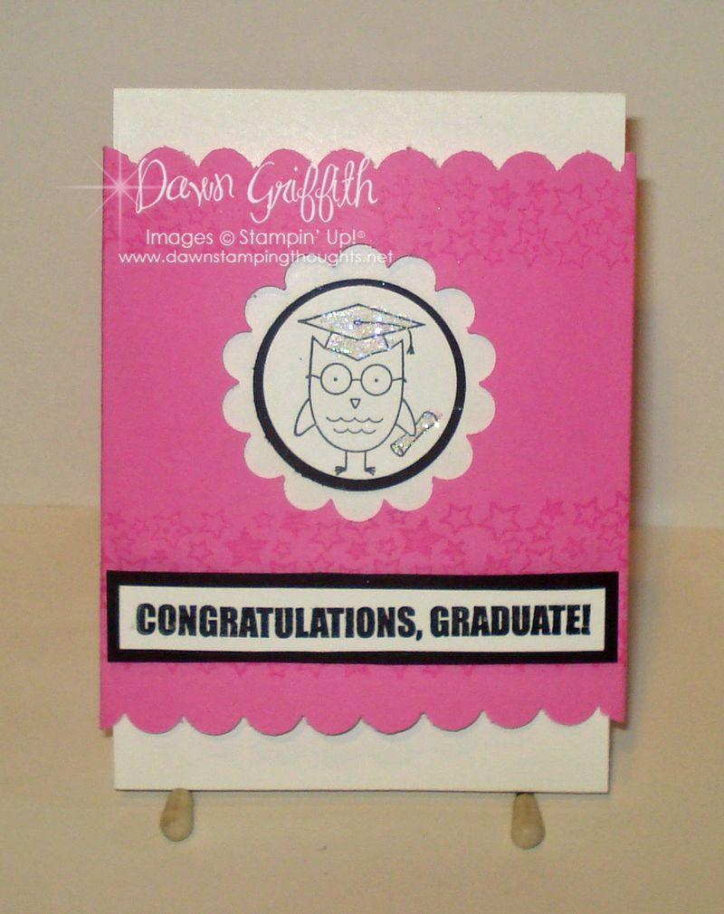 Wise Owl gift card holder
