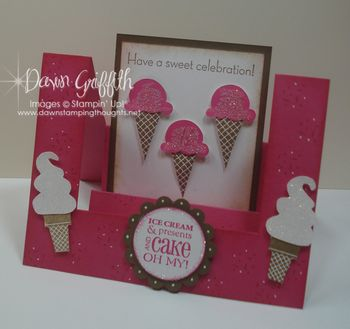 Ice Cream Celebration step card