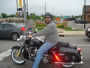 Rich with his New Harley
