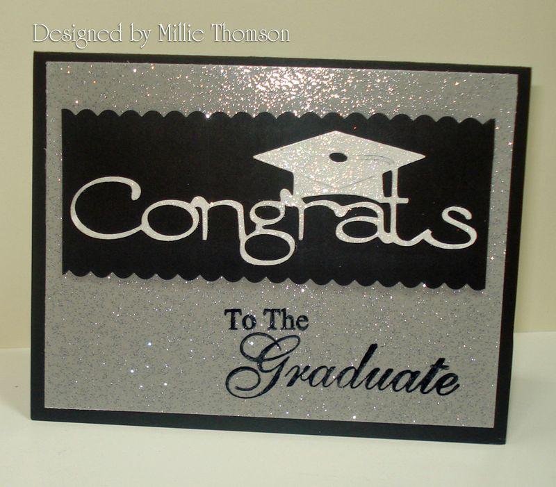 Jessies Graduation card  from Millie Thomson