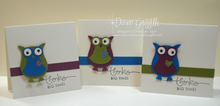 August 2010 Thank you Notes