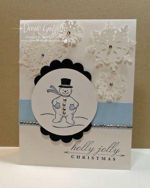 Snowman Holly Jolly