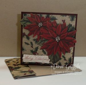Gift card holder with envelope