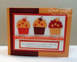 Build a Cupcake card