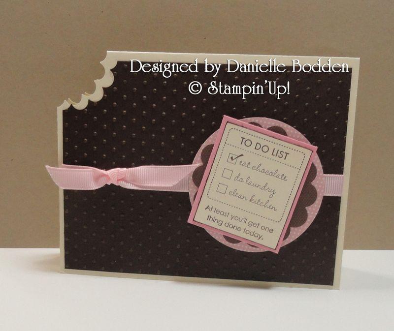 Danielle Bodden  2011 Occasions mini swap
