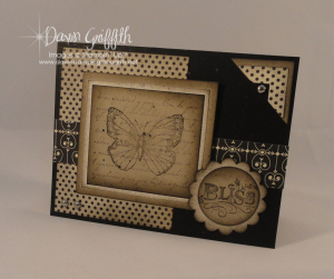 Crazy for Crumb Cake ~ #1 Bliss card