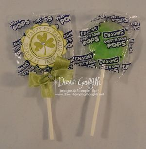 St Pattys day charm pops #1