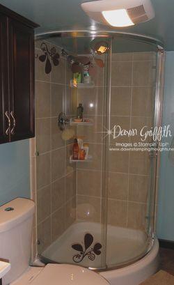 Shower with Decor Elements  Dec 2010