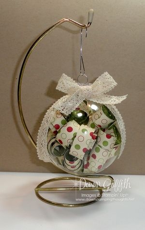Christmas Ornament with DSP inside #2