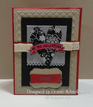 Deanie Schaefermeyer 2011 Occasions mini swap