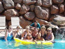 Pool girls with Shelli
