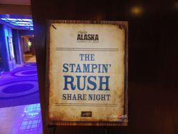 Stampin Rush share night