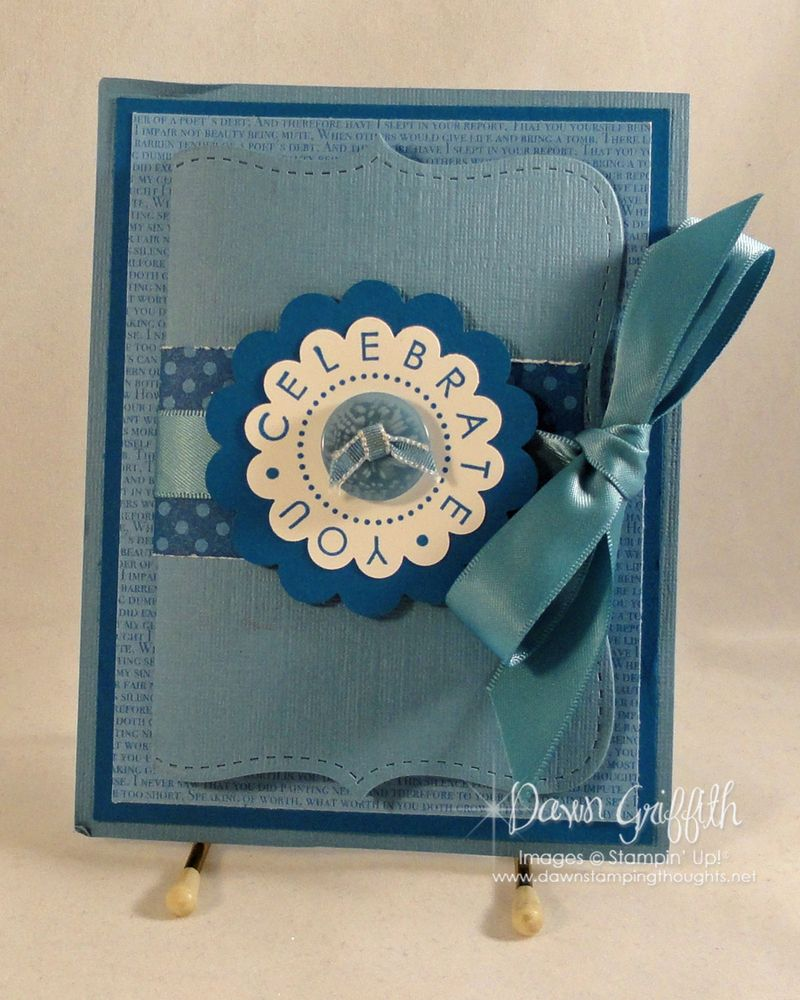 Celebrate you  from Stampin'Up!