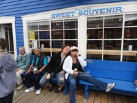 Skagway AK pit stop  for ice cream