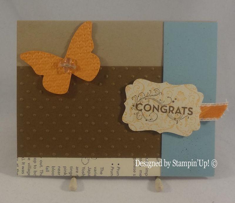 Felicia my SAM  congrats card