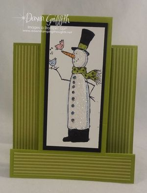 Lucky Limeade snow much fun Multi  Panel card