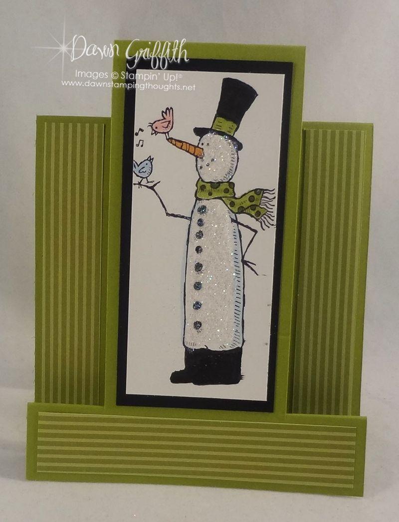 Lucky Limeade snow much fun Multi  Panel card