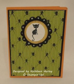 Halloween card from Kathleen Hurley