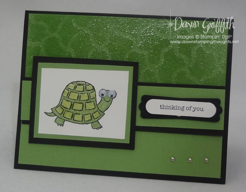 Thinking of you Faux turtle skin