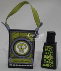 Halloween Mini Hand sanitizer holder #2