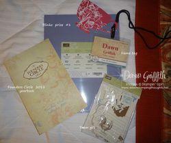 CS blinko prize  name tag yearbook