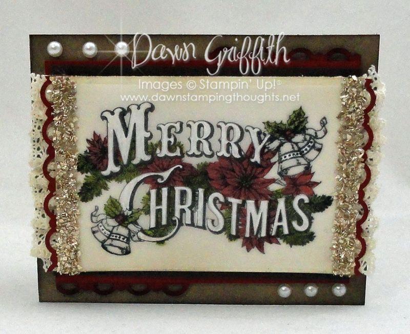 Merry Christmas gift card #1