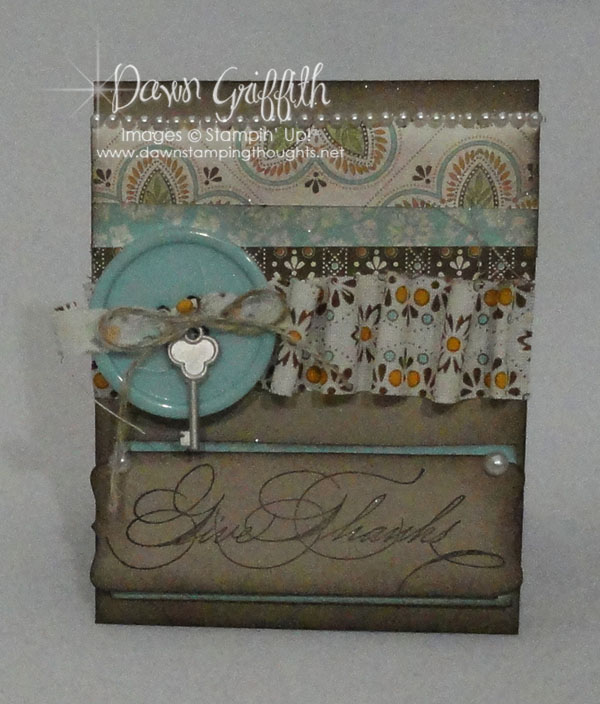 Give Thanks give card holder
