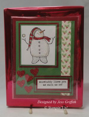 Jessie's Christmas card  for Pat