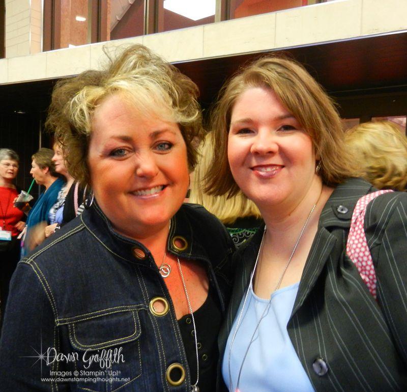 Meg and I at Leadership 2012