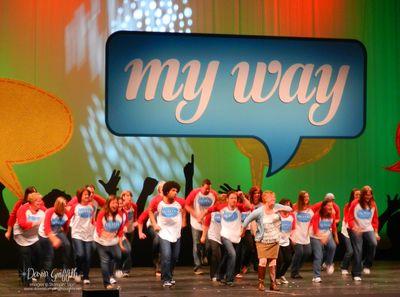 Happy Dance  at leadership 2012