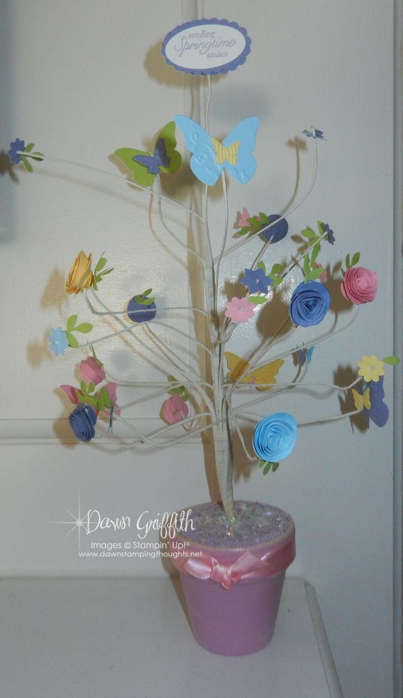 Springtime tree  with Dee