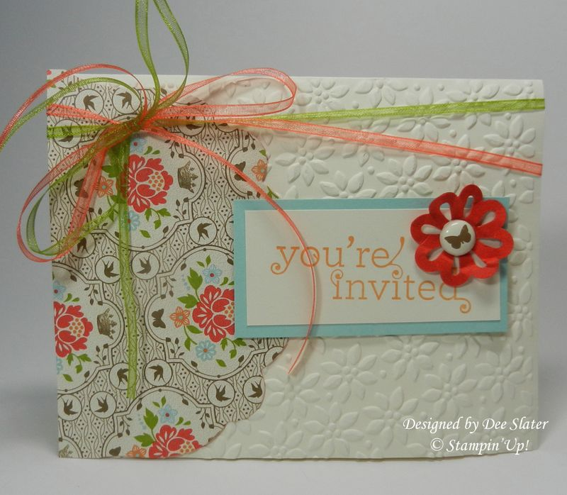 Dee's Invite to Workshop of a lifetime