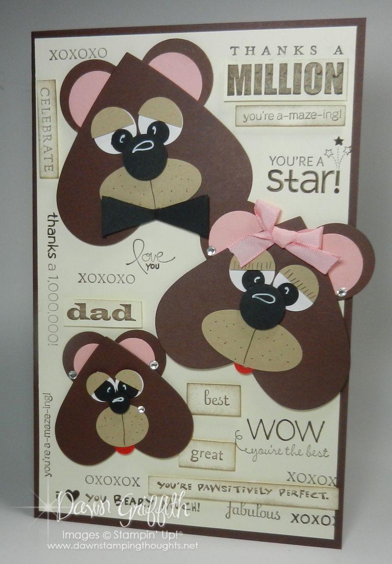 Bear Family card