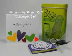 Goodies from Maxine Ruff