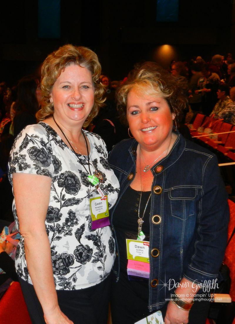 Gwen and I Leadership 2012