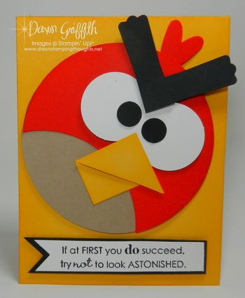 Angry Birds card for Ruthie