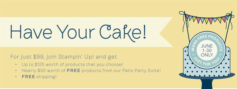 Have your cake promotion