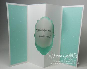 Tunnel card inside