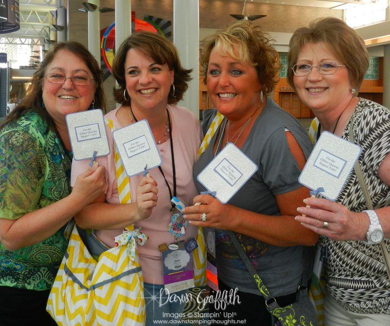 Glitter Queens  Nancy, Joan, Me & Karen