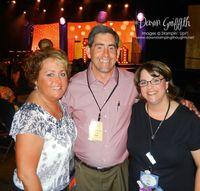 Rich Jutkins SU! president  with Joan & I