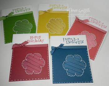 5 In color cards  for Convention 2012