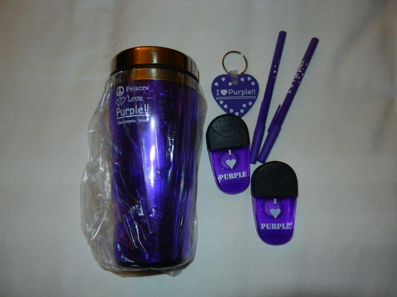 Purple goodies