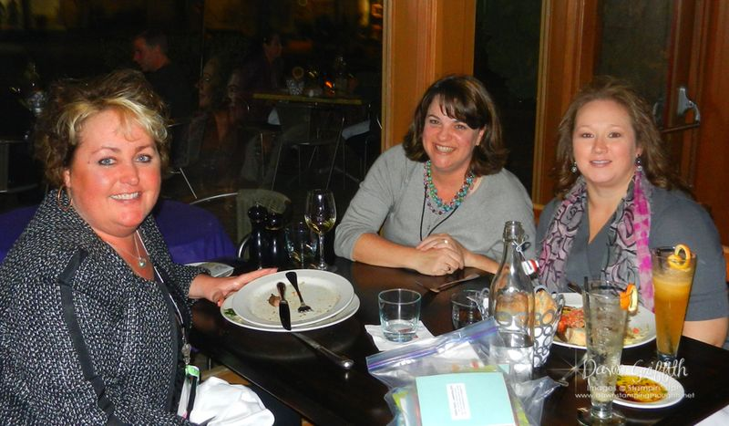 Joan Jana and I at Dinner 2-19-2012