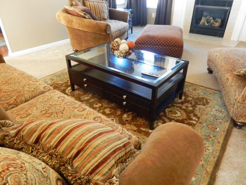New Coffee Table from Hubby