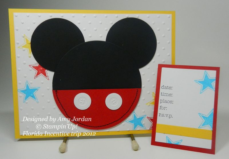 Disney 2012 Amy Jordan swap #2
