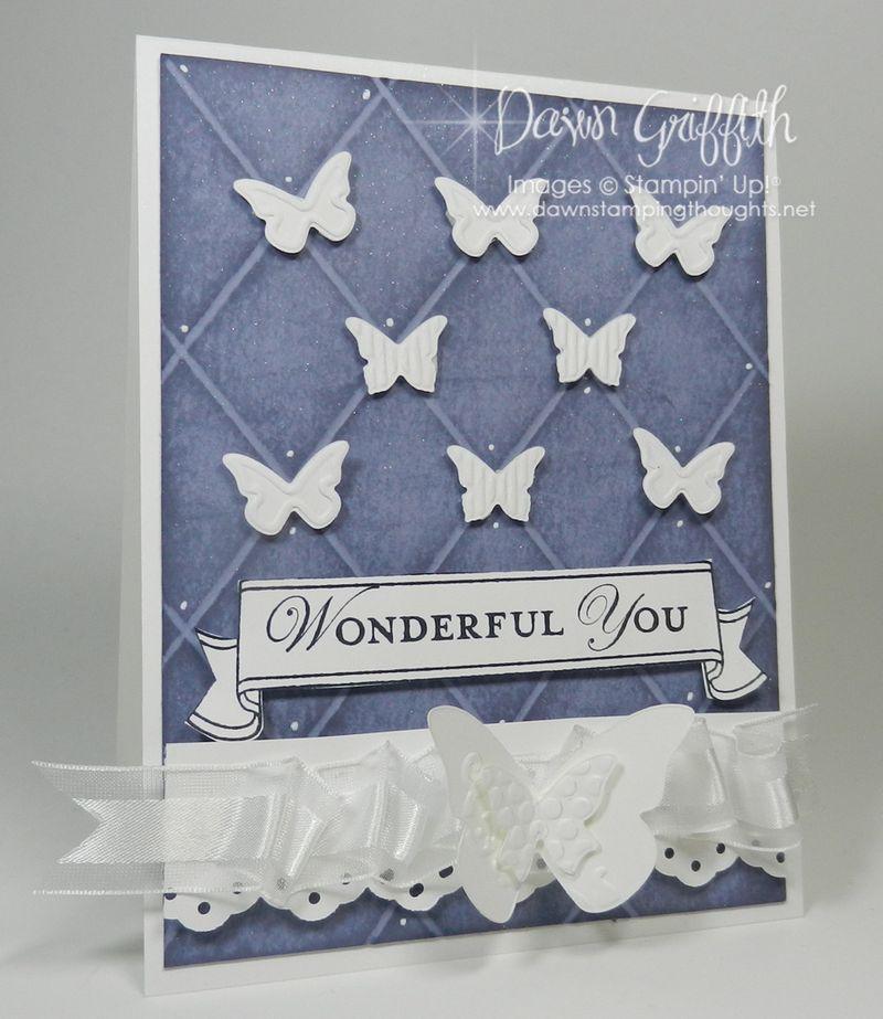 Wonderful You Butterflies Grid